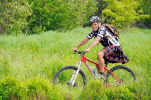 Mit Rad und Rock: Kiltradeln in New Brunswick