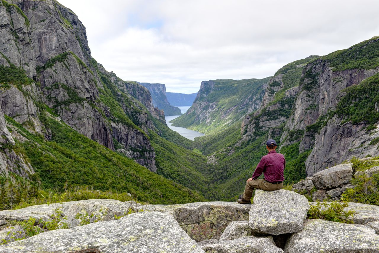 Am Western Brook Pond