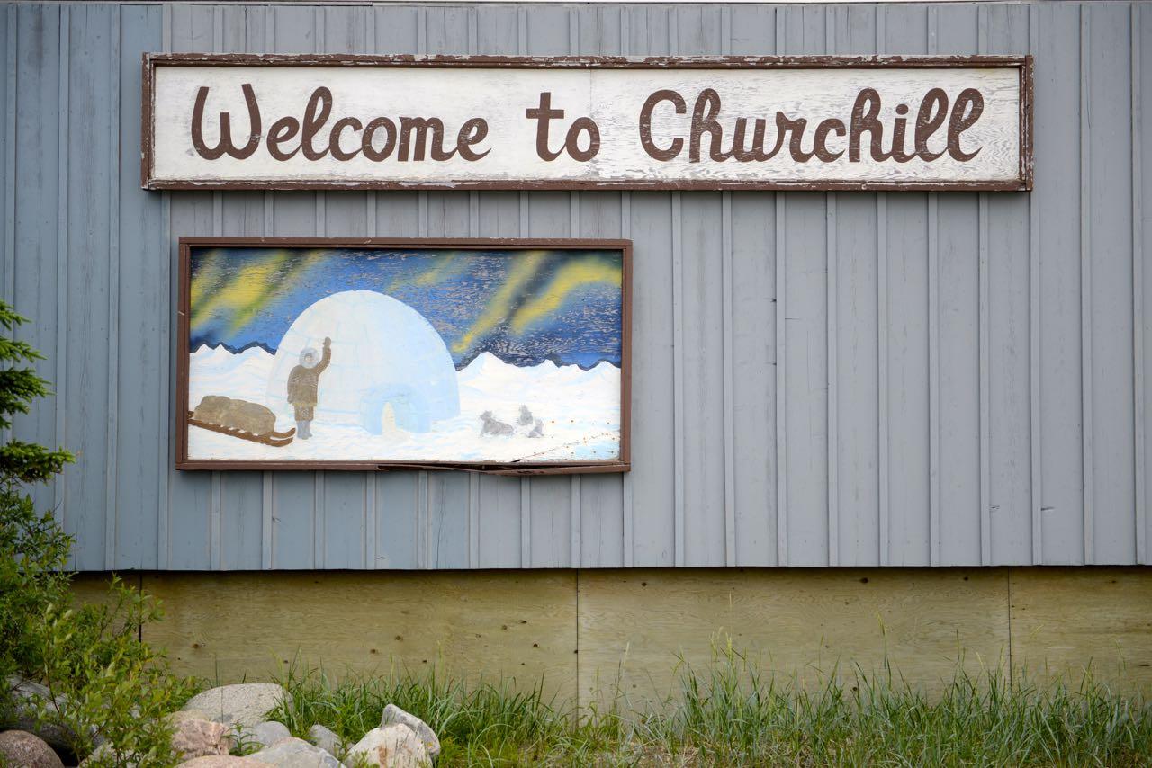 Willkommen in Churchill.