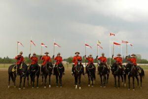 Saskatchewan: Beim RCMP Musical Ride in Yorkton