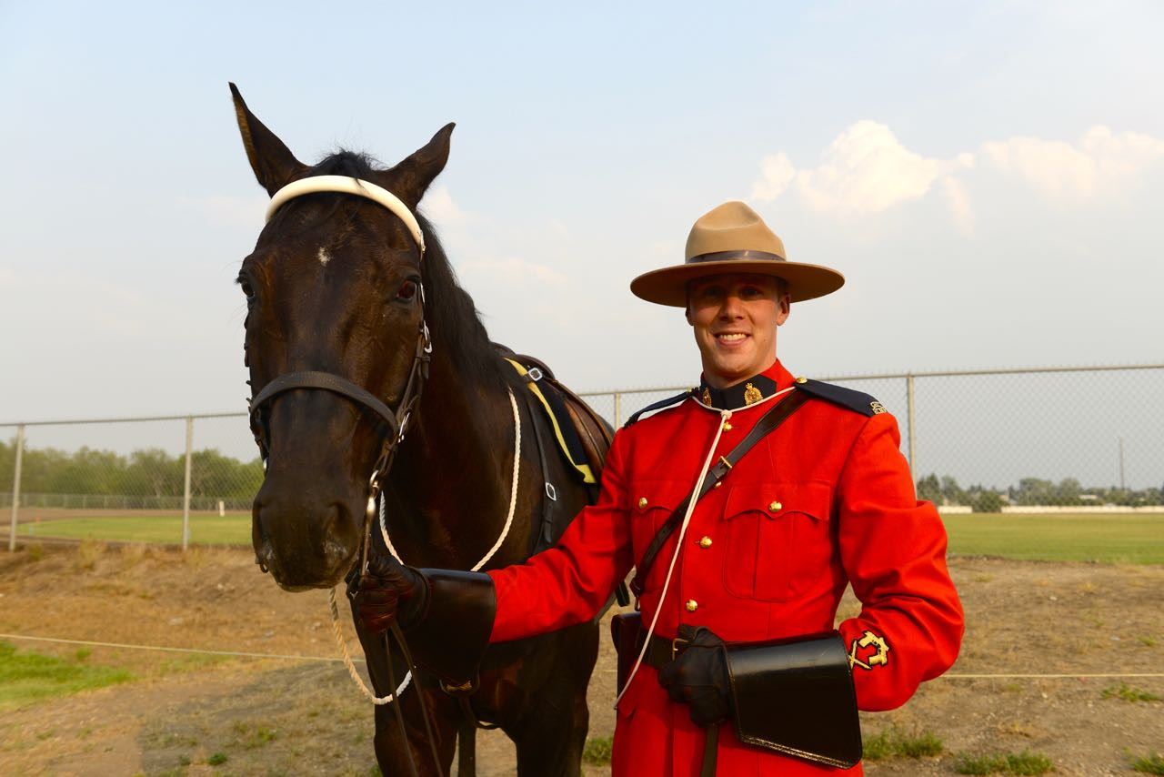 RCMP Officer Kaj Johnson.