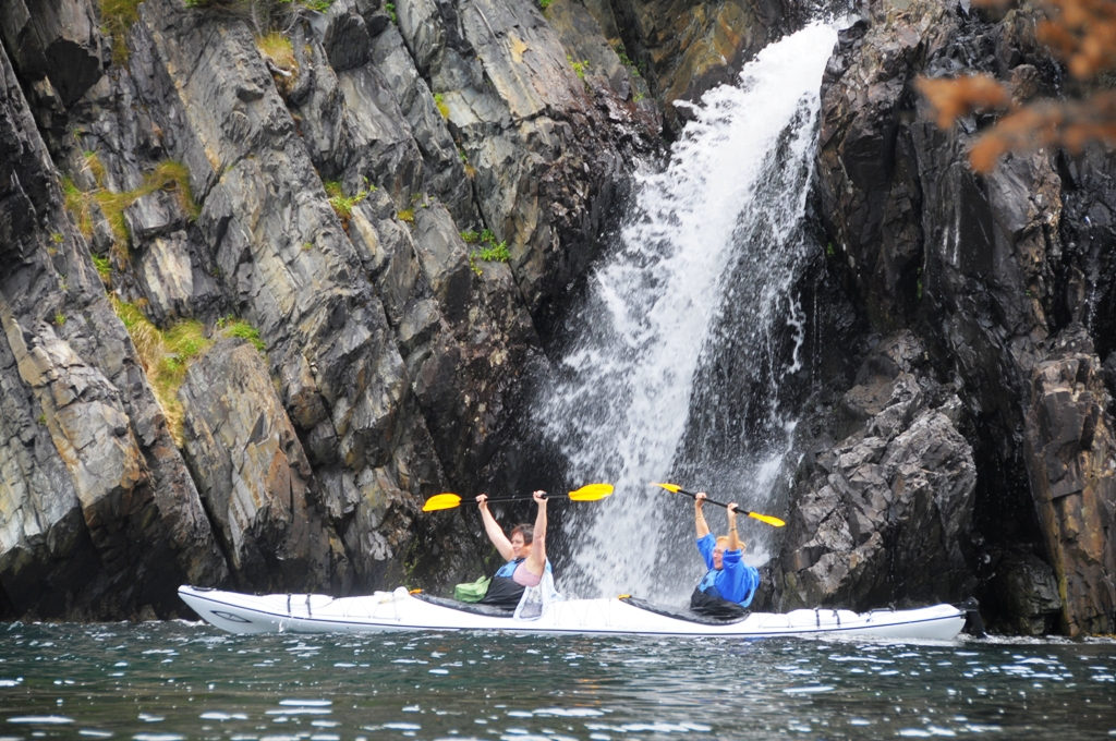 Jujuuu, ein Wasserfall