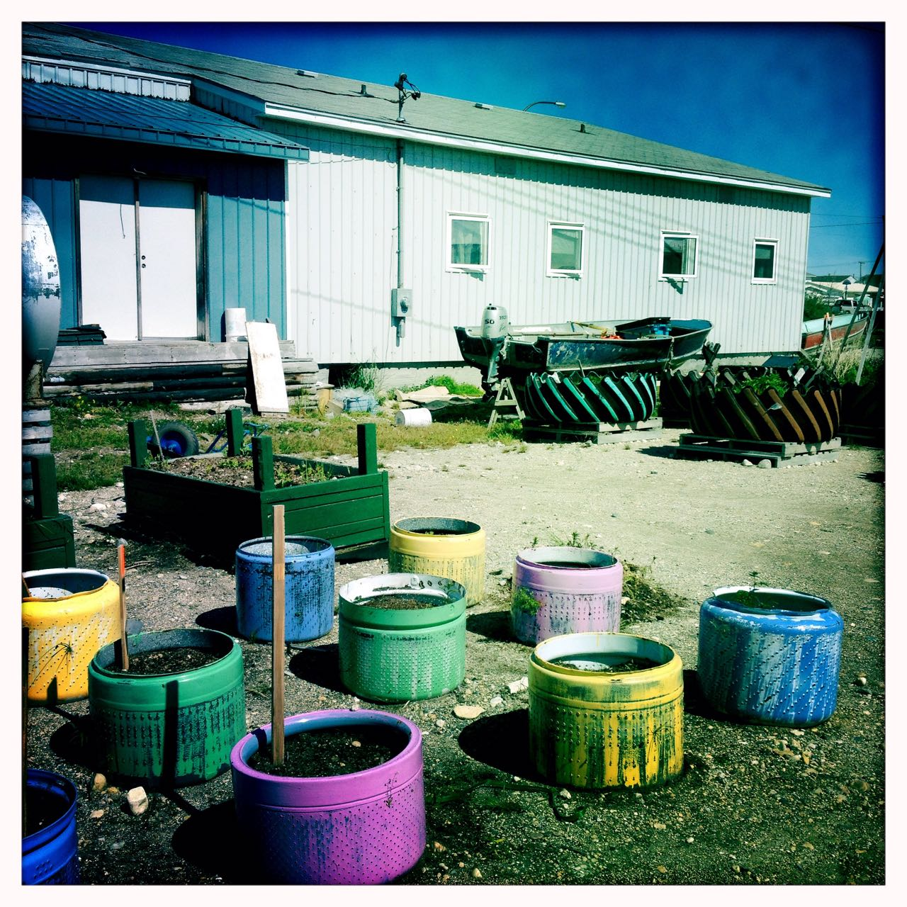 Community Gardens in Churchill.