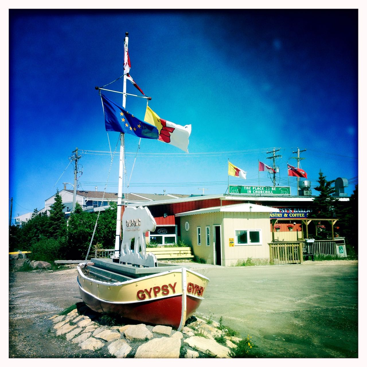 Restaurant Gypsy's in Churchill.