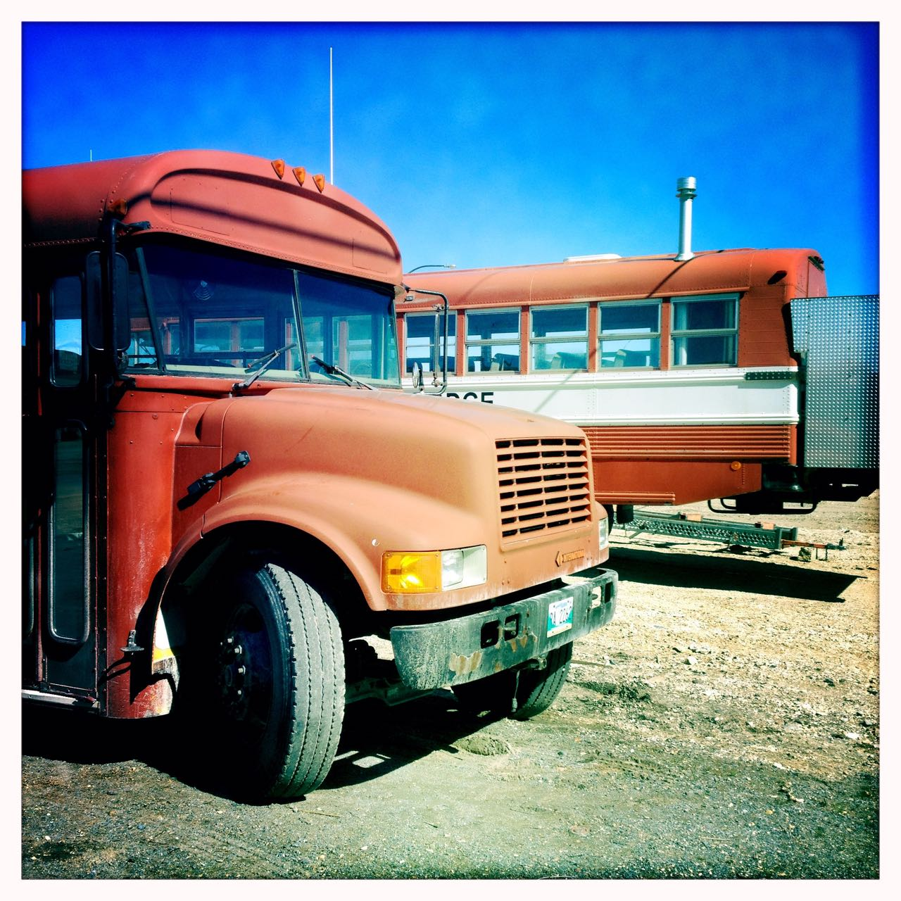 Retro-Bus in Churchill.