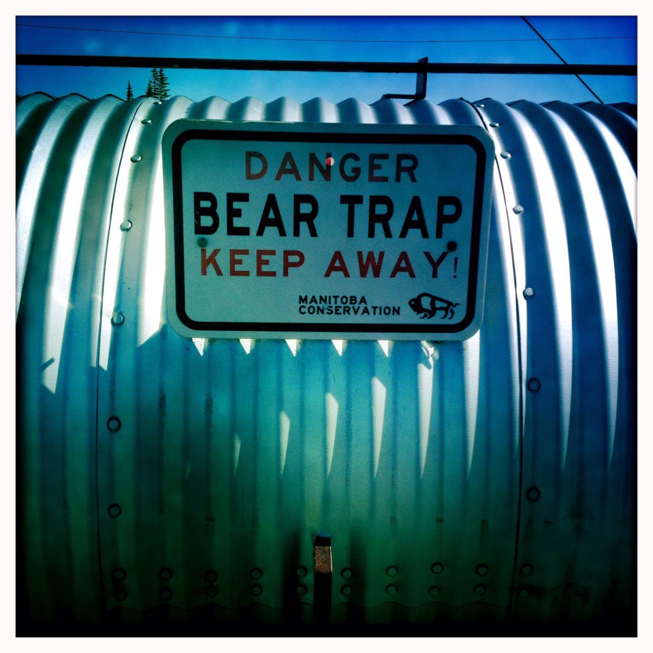 Bärenfalle.