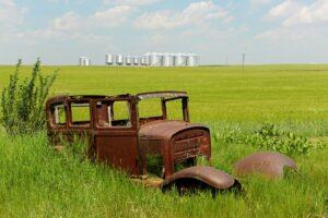 Saskatchewan: Beim Autosammler von Scotsguard
