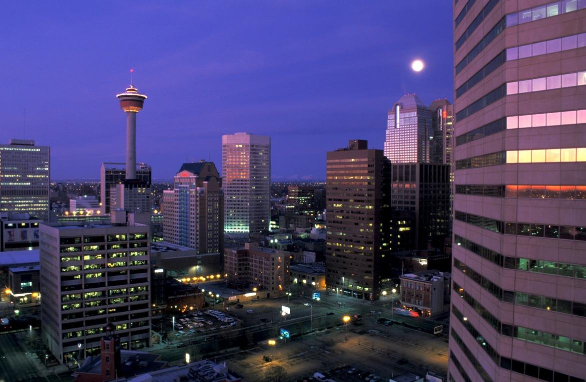 Alberta, Kanada: Wolkenkratzer in Calgary