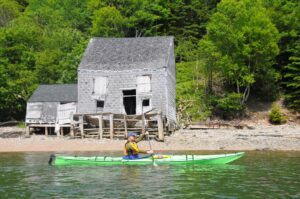 Read more about the article New Brunswick: Kanu-Yoga auf Deer Island