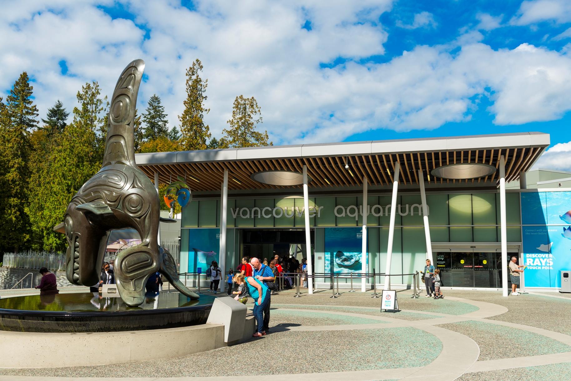 Vancouver Aquarium im Stanley Park, Stadt Vancouver, British Columbia, Kanada